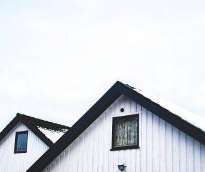 Barn Roofs in winter