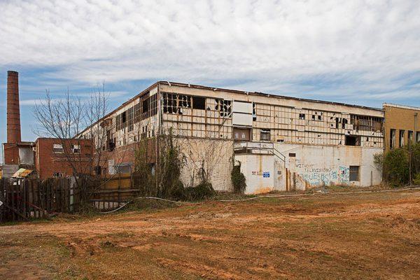 Piedmont Shirt Factory pre-demolition