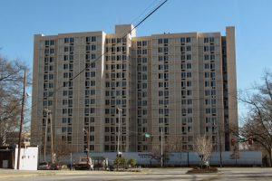 Scott Towers prior to Demolition
